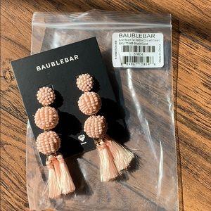 Baublebar Blush Tassel Earrings